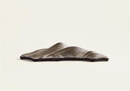 清五峰石供件(含木座,带盒)