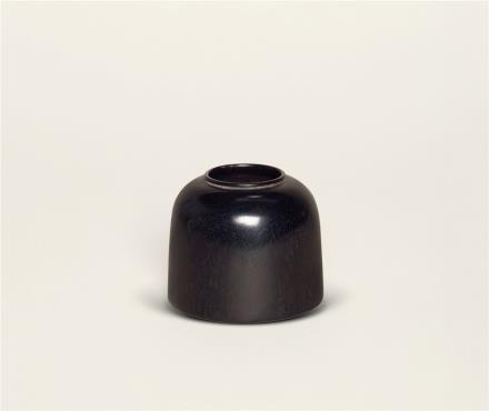 清紫檀水盂