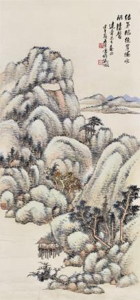吴征(1878-1949)夏山隐居