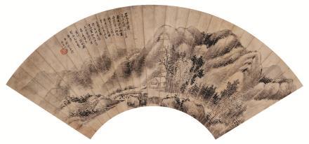 林纾(1852-1924)山水