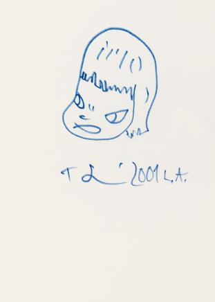 奈良美智 女孩头像 2001