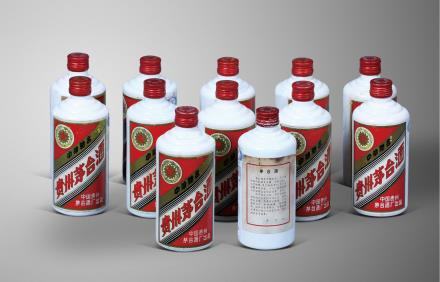 1987年产五星牌铁盖茅台酒