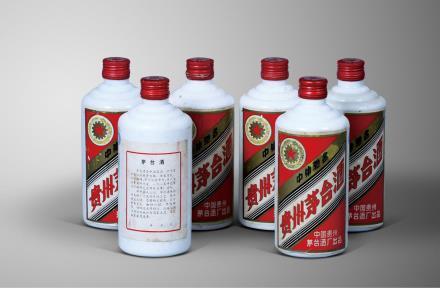 1990年产五星牌铁盖茅台酒
