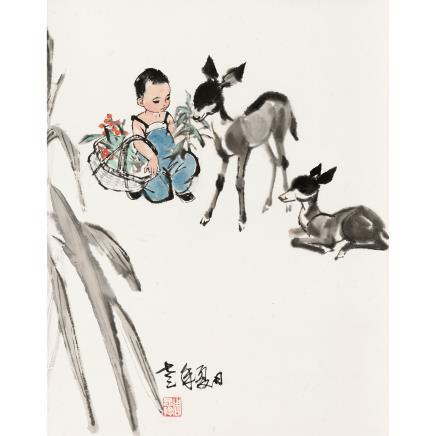 周思聪 (1939-1996) 童趣