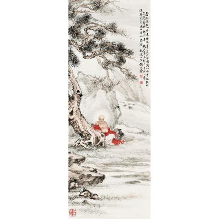 钱熊 (1898-1971) 无量寿佛