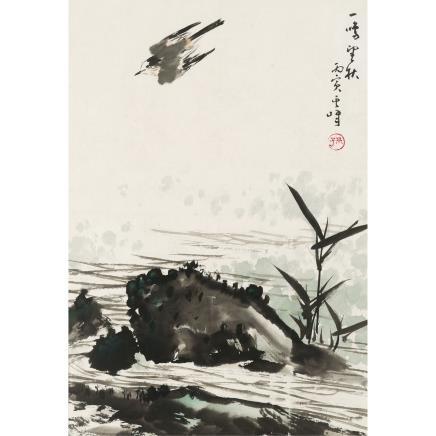 孙其峰 (b.1920) 花鸟