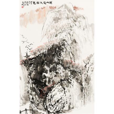 孙其峰 (b.1920) 万木霜天图意