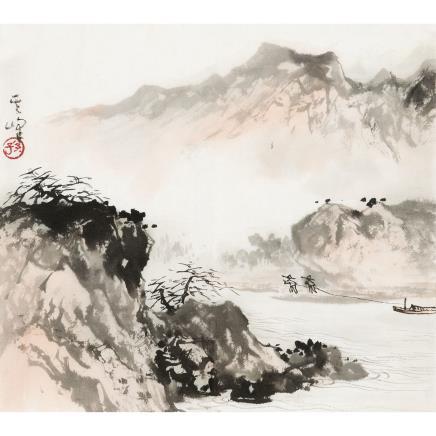 孙其峰 (b.1920) 山水
