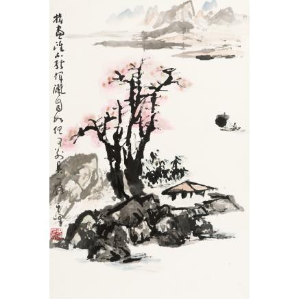 孙其峰 (b.1920) 指画山水