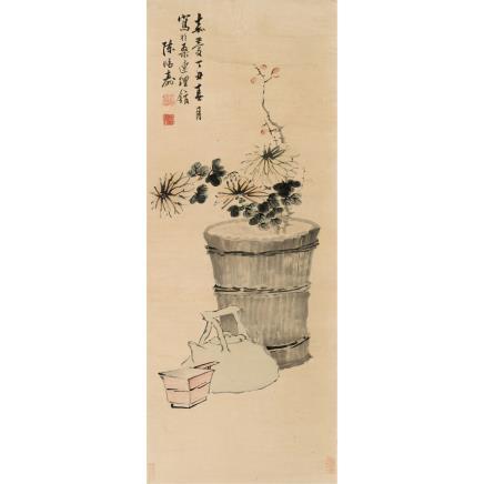 陈鸿寿 (1768-1822) 秋光图