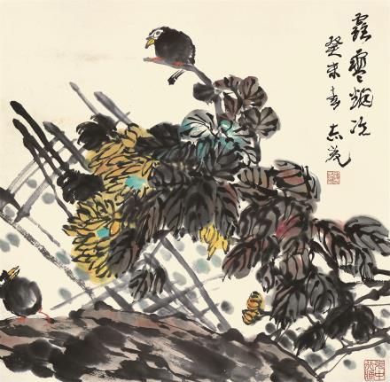 郭志光(b.1942)花鸟