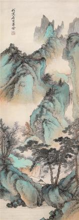 溥佺(1913-1991)幽境论道