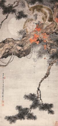 刘奎龄(1885-1967)宏业封侯