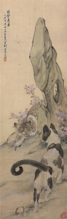 刘奎龄(1885-1967)同登耄耋