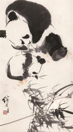 刘继卣(1918-1983)熊猫