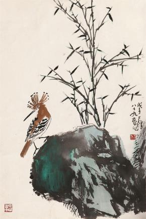 孙其峰(b.1920)戴胜