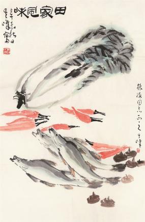 孙其峰(b.1920)田家风味