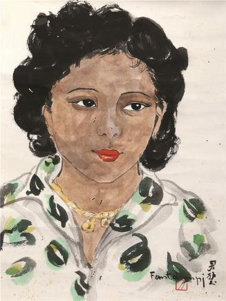 方君璧(1898-1986)少女像