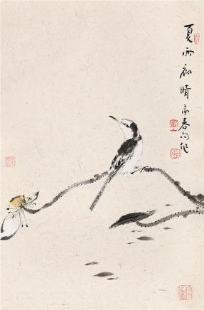 霍春阳(b.1946)夏雨初晴
