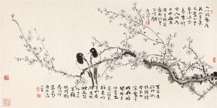 霍春阳(b.1946)春暖花开