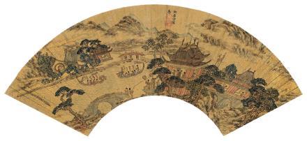 万寿褀 1603-1652阿房宫图