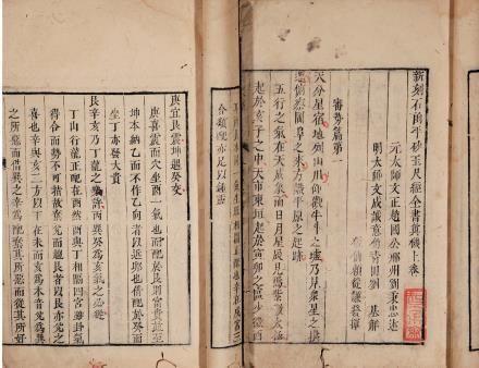 (元)刘秉忠述  《新刻石函平砂玉尺经全书》上集六卷后集四卷