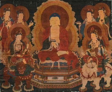 佚名 佛祖圣像图