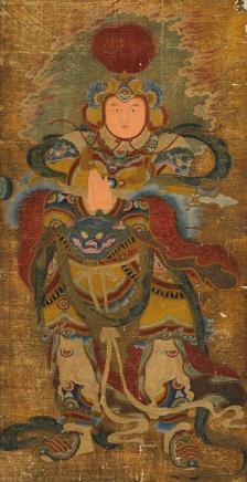 佚名 韦陀画像