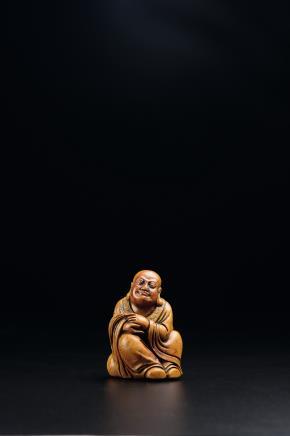 寿山石雕罗汉