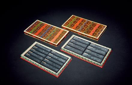70年代黄山风景墨 2盒十八方