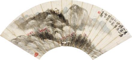 胡公寿高房山春山图