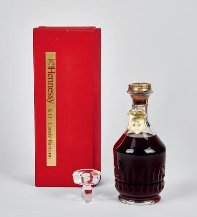 80年代轩尼诗水晶瓶XO 顶级干邑