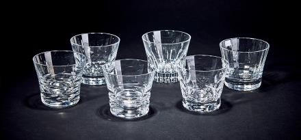 巴卡拉威士忌水晶玻璃品酒杯一套 6只