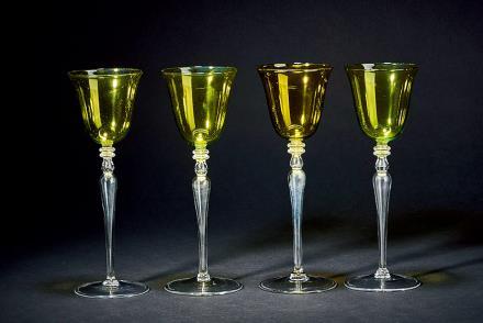 巴卡拉水晶玻璃酒瓶 4只