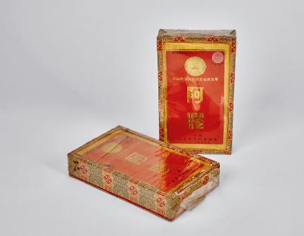 1991年精装东阿阿胶两盒