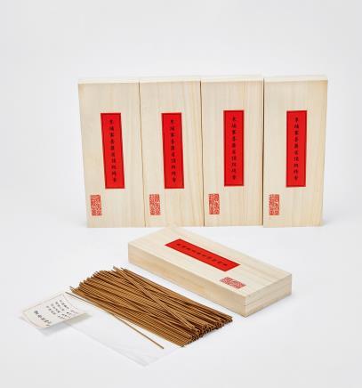 2010年私人订制柬埔寨菩萨省顶级线香 5盒(限量版)