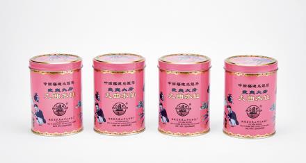 1998年武夷山九曲茶厂九曲水仙岩茶 4罐