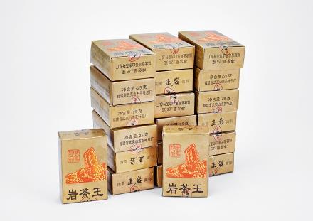 """1991年武夷茶叶总厂""""岩茶王"""" 20盒"""