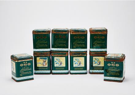1993年中茶宫廷普洱散茶(熟茶)10罐