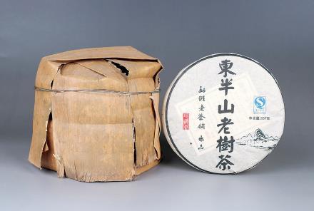2008年东半山老树生茶
