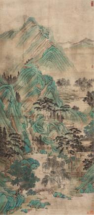 佚名 古代 青绿山水