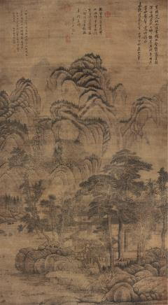 王翚 古代 山水