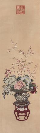 慈禧 古代 花卉