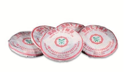 大益茶T7572熟饼(5片)