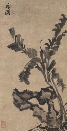 张瑞图(1570-1644)芭蕉