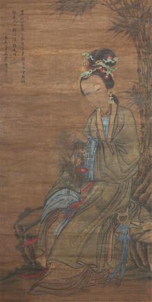 唐寅(1470-1524)仕女