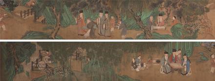刘松年(约1155-1218)雅园集贤图