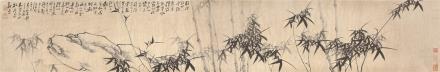 郑板桥(1693-1765)竹石图