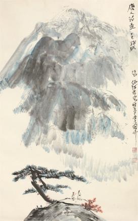何海霞(1908-1998)唐人诗意图