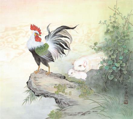 刘欣如 工笔花鸟一组三帧(三选一)